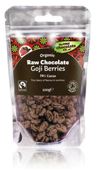 Raw Organic Chocolate Goji Berries