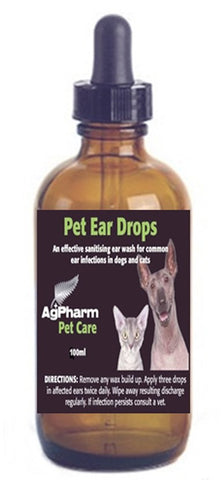 Natural Pet Ear Drops