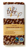 Organic Dark Chocolate with Hazelnuts & Coffee