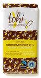 Organic Dark Chocolate with Lemon & Ginger