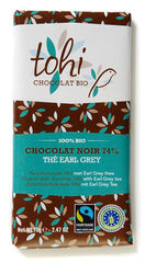Organic Dark Chocolate with Earl Grey Tea