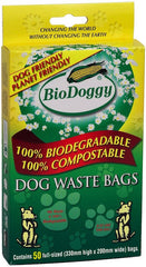 Biodegradable & Compostable Dog Waste Bags x 50