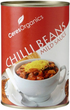 Organic Chilli Beans in Sauce