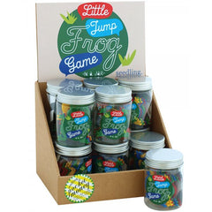 Little Jump Frog Game in a Jar