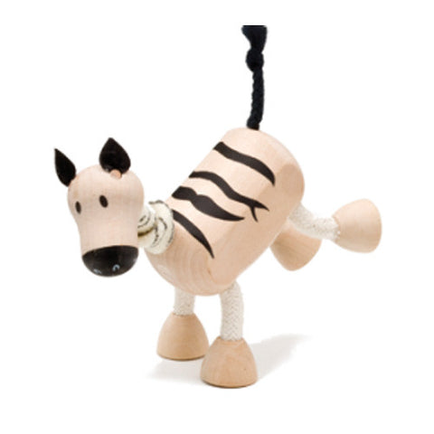 Zebra Wooden Toy Animal Friend