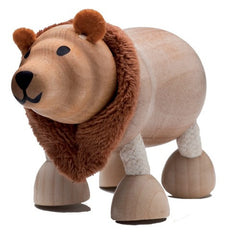 Brown Bear Wooden Toy Animal Friend