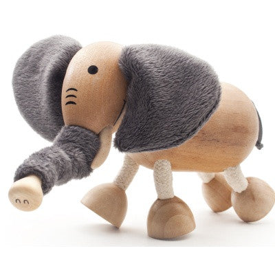 Elephant Wooden Toy Animal Friend