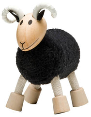 Black Ram Wooden Toy Animal Friend