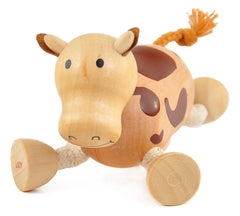 Cow Wooden Toy Animal Friend