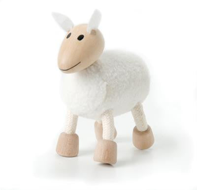 Sheep Wooden Toy Animal Friend