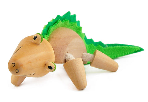 Crocodile Wooden Toy Animal Friend