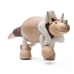 Triceratops Wooden Toy Animal Friend