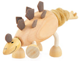 Stegosaurus Wooden Toy Animal Friend