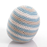 Organic Cotton Rattle Ball
