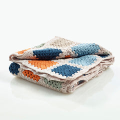 Organic Cotton Granny Square Blanket