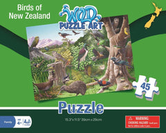 Birds of New Zealand Puzzle
