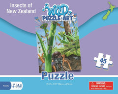Insects of New Zealand Puzzle