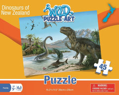 Dinosaurs of New Zealand Puzzle