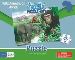 Wild Animals of Africa Puzzle