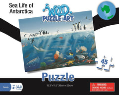 Sea Life of Antarctica Puzzle