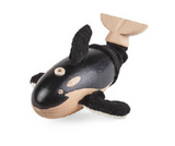 Orca Whale Wooden Toy Animal Friend