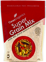 Super Mix -Amaranth & White Red Black Quinoa