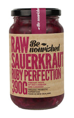 Ruby Perfection Raw Sauerkraut