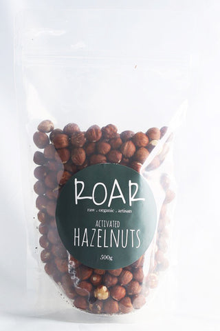Raw Organic Activated Hazelnuts