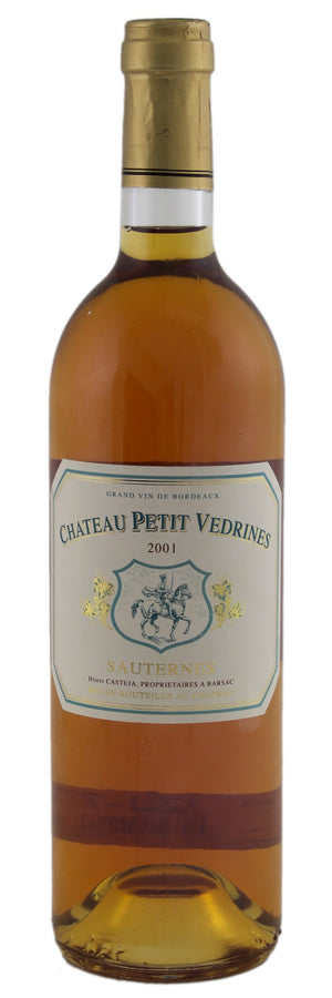 Chateau Petit Vedrines - 2001 - 750ml