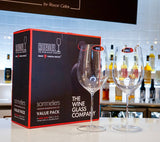 RIEDEL Sommeliers Bordeaux Grand Cru Value Gift Pack Set/2