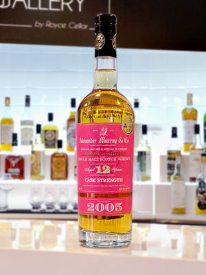 Alexander Murray & Co Laphroaig Cask Strength 12 Years 2005 - 750ml