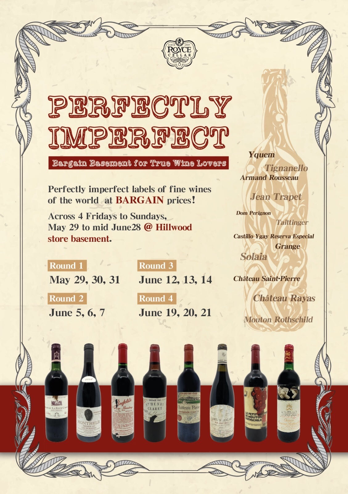 Perfectly Imperfect: Bargain Basement for True Wine Lovers!