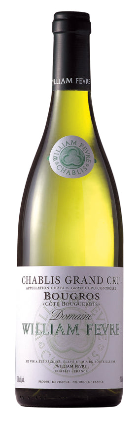 Domaine William Fevre Chablis Grand Cru Bougros Cote Bouguerots - 2012 - 750ml