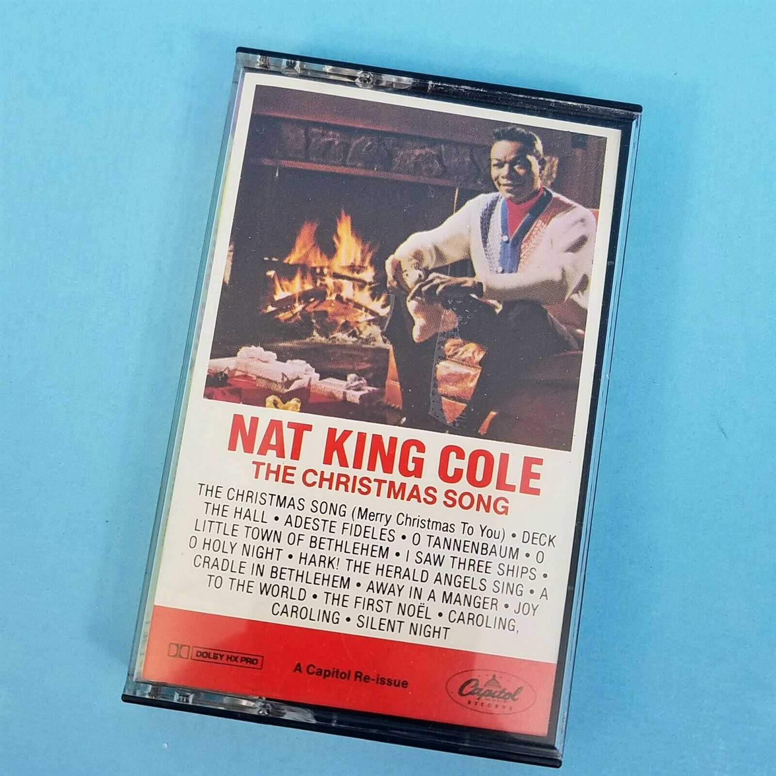 Nat King Cole Christmas Songs Cassette C4-46318 Capital Records 1980