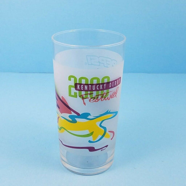 Kentucky Derby Festival 2000 Pegasus Mint Julep Beverage Drinking Glass Pepsi