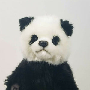 Panda Full Body Hand Puppet by Hansa Realistic Look Plush Animal Learning Toys