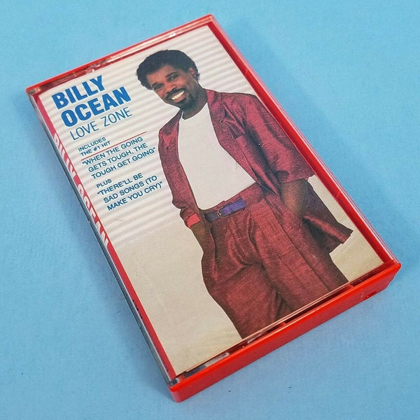 Billy Ocean Love Zone Cassette Tape Arista Records 1986