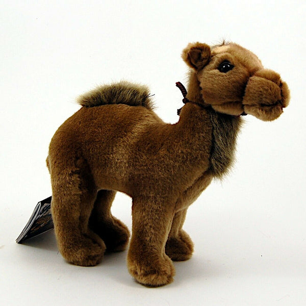 Camel Young 9'' by Hansa True to Life Look Soft Plush Animal Learning Toys