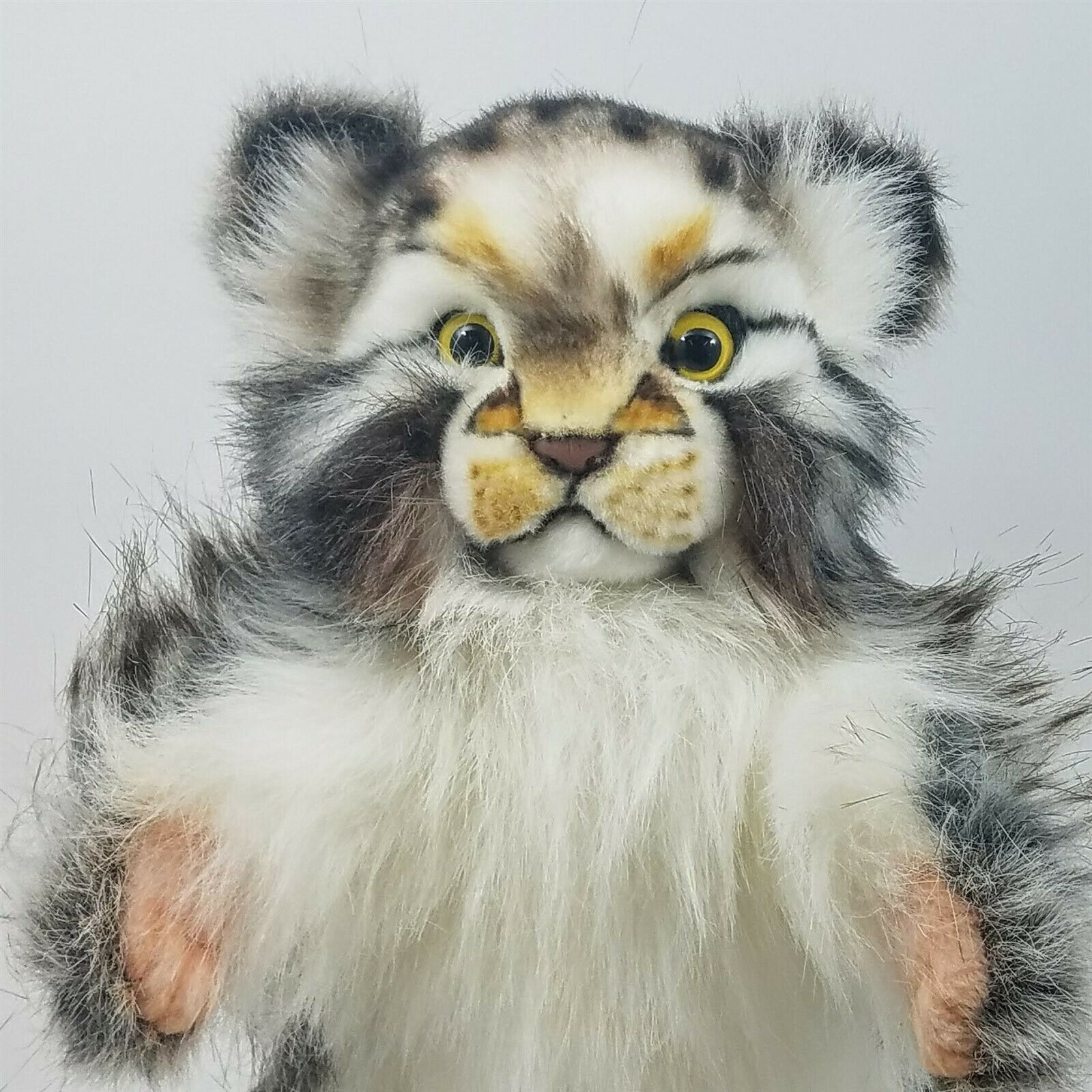 Pallas Cat Full Body Hand Puppet by Hansa Realistic Look Animal Learning Toys
