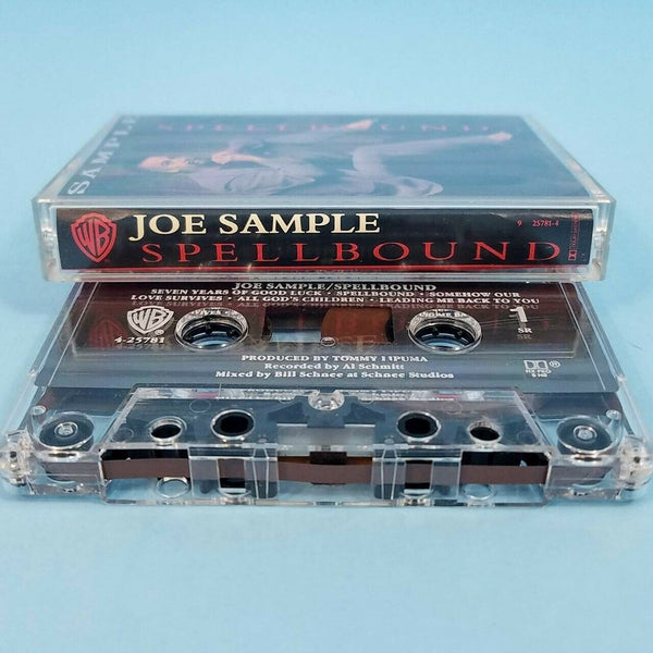 Joe Sample Spellbound Cassette Tape 1991