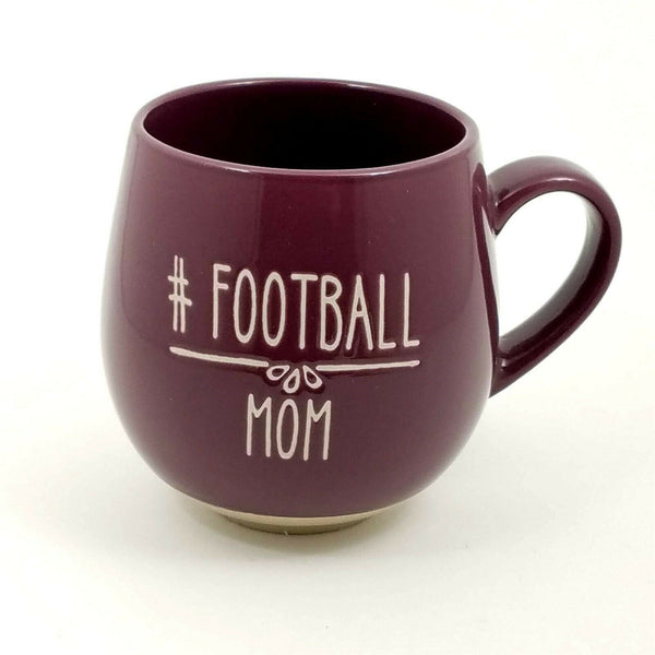 Football Mom Mug Cup Pen Pencil or Plant Holder Spectrum New 18oz (532ml)