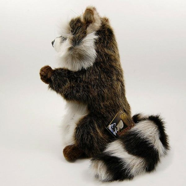 Racoon Hand Puppet by Hansa True to Life Look Soft Plush Animal Learning Toys