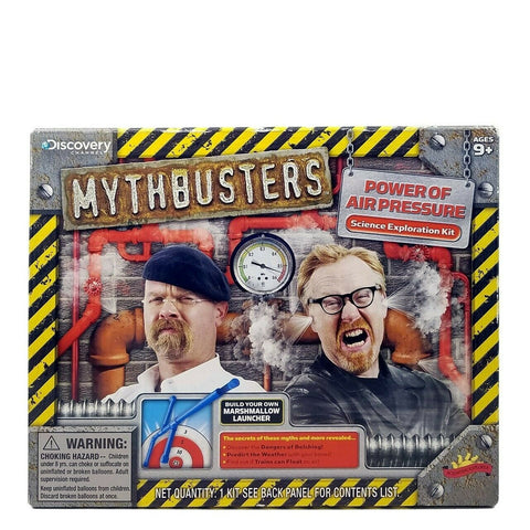 Mythbusters Power Of Air Pressure Science Exploration Kit By Discovery Channel