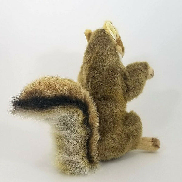 Squirrel Full Body Hand Puppet by Hansa Realistic Look Plush Animal Learning Toy