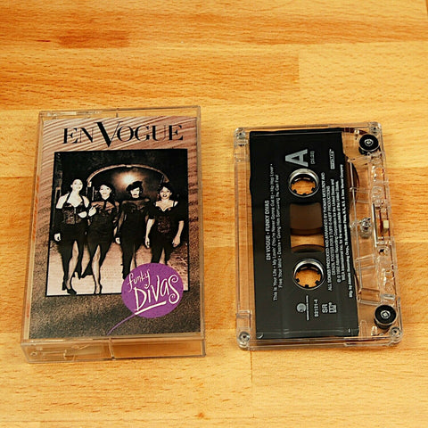 En Vogue Funky Divas Cassette Tape 1992 Atlantic Records R&B