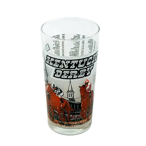 1980 Kentucky Derby 106 Mint Julep Beverage Glass, Winner Was Genuine Risk