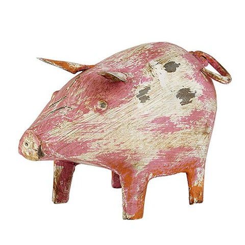 Reclaimed Iron Pig