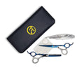 Raven Silver/Blue Shears Pro Set