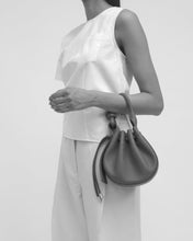 Load image into Gallery viewer, Ina Mini Crossbody Pebble Metallic Silver