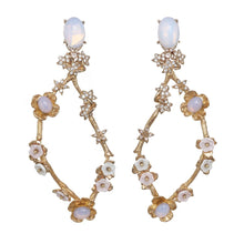 Load image into Gallery viewer, Vine Chandelier Earrings